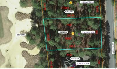 Southern Pines Residential Lots & Land For Sale: 22 Augusta Drive