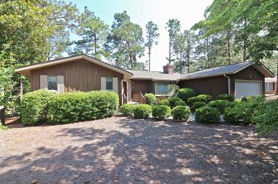Pinehurst Single Family Home For Sale: 5 W Quail Lake Road