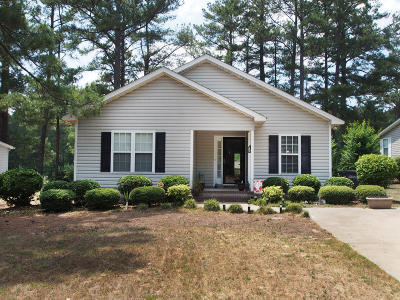 Pinebluff Single Family Home Active/Contingent: 125 Ryder Cup Boulevard