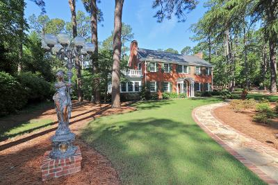 Southern Pines Single Family Home For Sale: 140 Indian Trail