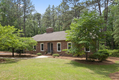 Southern Pines Single Family Home Active/Contingent: 1040 Inverness Road