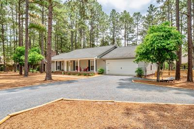 Pinehurst NC Single Family Home Active/Contingent: $269,000