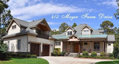 Southern Pines Single Family Home For Sale: 412 Meyer Farm Drive