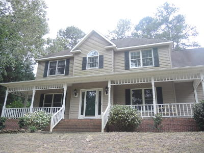 Southern Pines Single Family Home Active/Contingent: 119 Windsor Lane