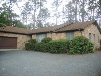 Whispering Pines Single Family Home For Sale: 161 Pine Ridge Drive
