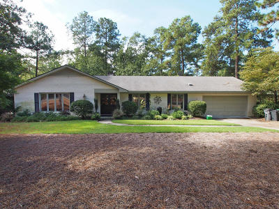 Pinehurst Single Family Home For Sale: 32 Thunderbird Circle