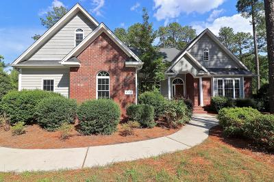 Seven Lakes Single Family Home Active/Contingent: 428 Longleaf Drive
