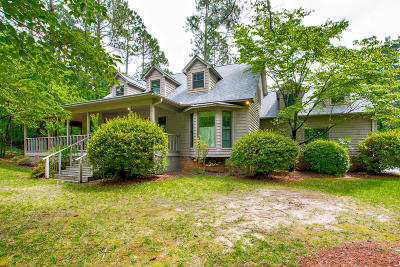 Southern Pines Single Family Home Active/Contingent: 1325 E Hedgelawn Way