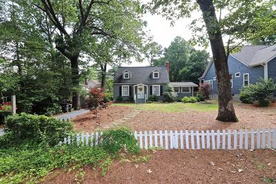 Southern Pines Single Family Home Active/Contingent: 325 E Vermont Avenue
