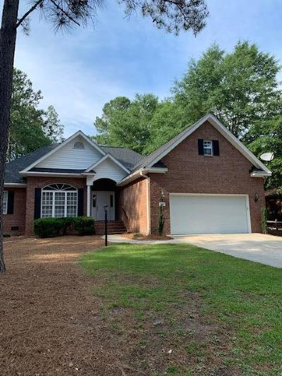 Pinehurst Single Family Home For Sale: 165 Oakmont Circle