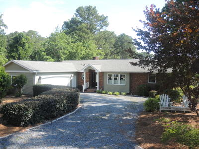 Moore County Single Family Home Active/Contingent: 162 Pine Ridge Drive