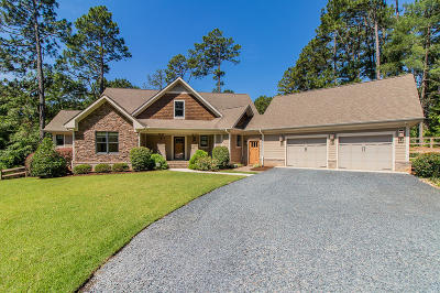 Southern Pines Single Family Home Active/Contingent: 730 E Indiana Avenue