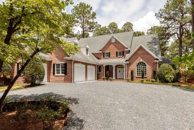 Pinehurst NC Single Family Home For Sale: $642,500