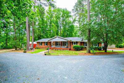 Southern Pines Single Family Home Active/Contingent: 508 S Glenwood Trail