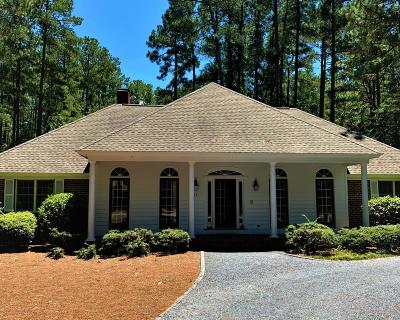 Pinewild Cc Single Family Home Active/Contingent: 17 Pinewild Drive