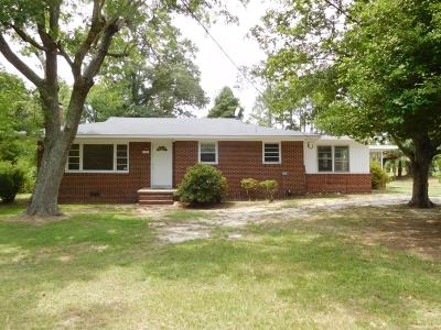 Carthage Single Family Home Active/Contingent: 436 Us Hwy 15-501