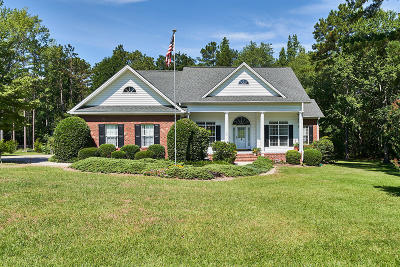 Whispering Pines Single Family Home For Sale: 15 Princess Gate Drive