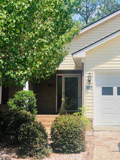 Moore County Condo/Townhouse Active/Contingent: 201 La Foret Court