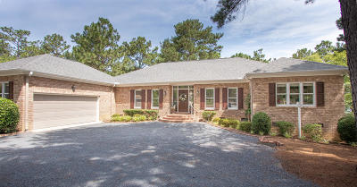 Moore County Single Family Home Active/Contingent: 68 Pine Lake Drive
