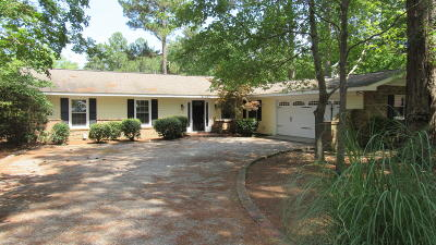 Pinehurst Single Family Home Active/Contingent: 2 Lake Forest Place