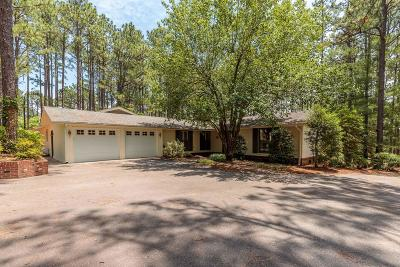 Pinehurst Single Family Home For Sale: 100 Bel Air Drive