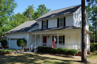 Moore County Single Family Home Active/Contingent: 110 Vincent Way