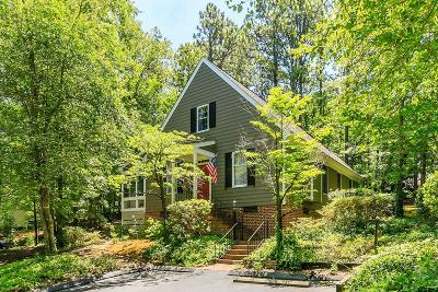Southern Pines Single Family Home Active/Contingent: 14 Village In The Woods Circle