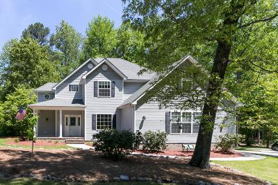 Vass Single Family Home For Sale: 827 Riverbirch Drive