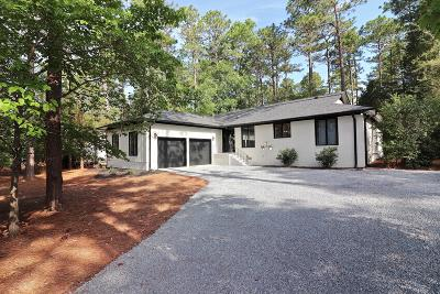 Pinehurst Single Family Home Active/Contingent: 175 Lake Hills Road