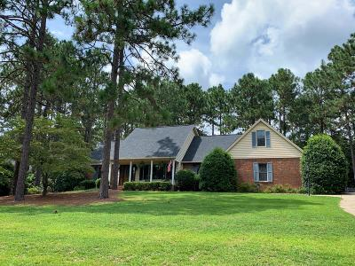 Pinehurst Single Family Home For Sale: 120 Lakeside Court