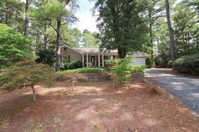 Pinehurst NC Single Family Home For Sale: $272,500