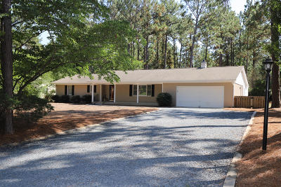 Whispering Pines Single Family Home For Sale: 11 Bogie Drive