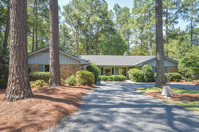 Pinehurst NC Single Family Home Active/Contingent: $232,500