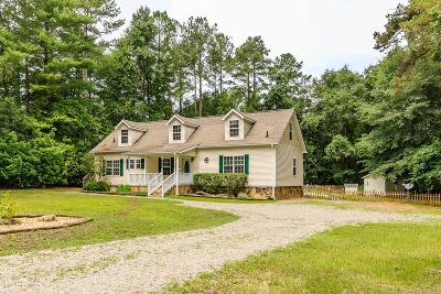 Whispering Pines Single Family Home For Sale: 3120 Niagara-Carthage Road