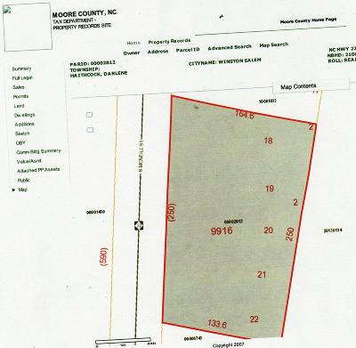 Carthage Residential Lots & Land Active/Contingent: S Nc Hwy 22