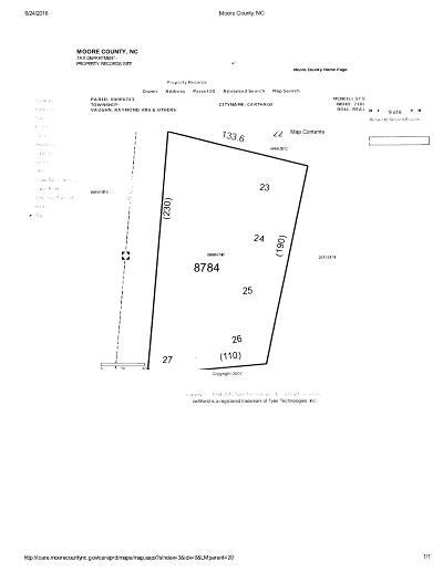 Carthage Residential Lots & Land For Sale: S McNeill Street #0.58 Ac