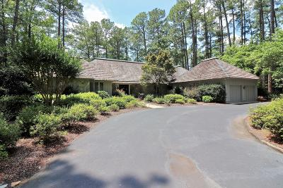 Pinehurst NC Single Family Home For Sale: $1,125,000