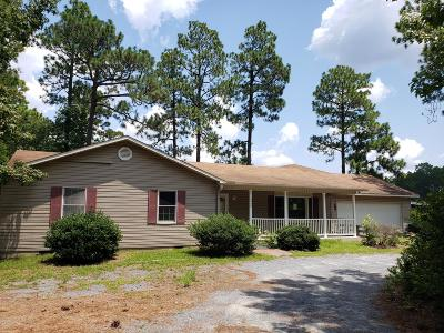 Southern Pines Single Family Home Active/Contingent: 2425 E Indiana Avenue