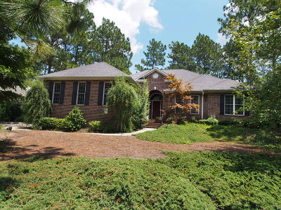 Pinehurst Single Family Home Active/Contingent: 6 Peachtree Lane
