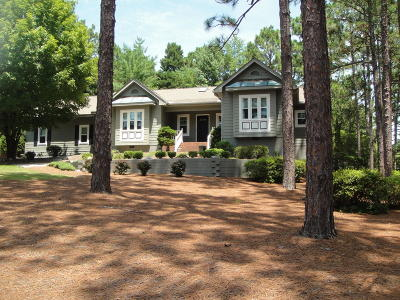 Pinehurst Single Family Home Active/Contingent: 345 Tall Timbers Drive