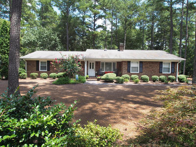 Pinehurst Single Family Home For Sale: 350 Lake Forest Drive