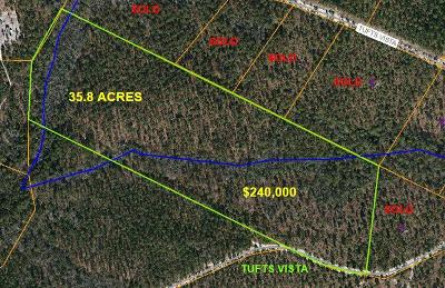 Jackson Springs Residential Lots & Land For Sale: 836 W Tufts Vista