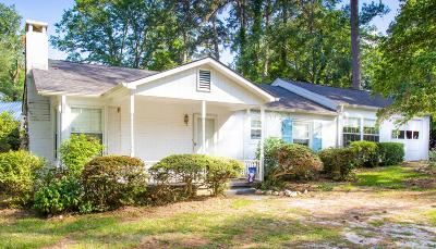 Cameron, Vass Single Family Home For Sale: 136 Old Raleigh Road