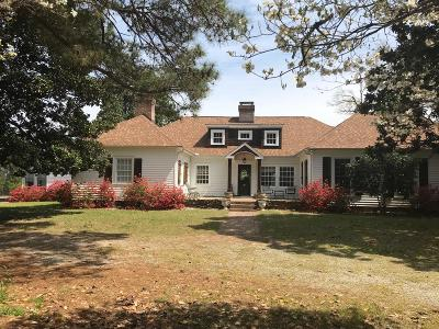 Jackson Springs Single Family Home For Sale: 204 Hope Drive