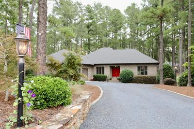 Pinehurst Single Family Home For Sale: 14 Barons Drive