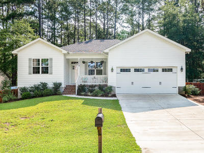Pinehurst Single Family Home Active/Contingent: 2540 SW Longleaf Drive