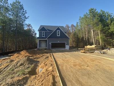 Cameron, Vass Single Family Home For Sale: 109 Eaker Drive