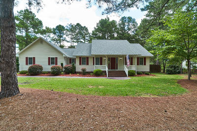 Southern Pines Single Family Home Active/Contingent: 200 Horseshoe Drive
