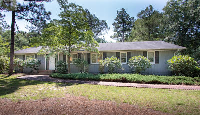 Pinehurst Single Family Home For Sale: 90 E McCaskill Road