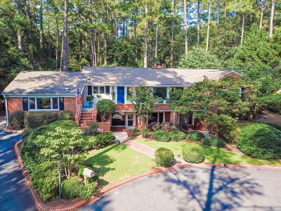 Southern Pines Single Family Home For Sale: 595 S Valley Road